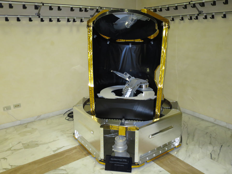 EPS-SG MicroWave Imager Instrument