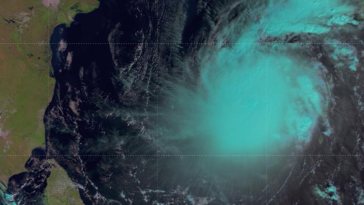 Metop captures Tropical Cyclone Lehar over Bay of Bengal