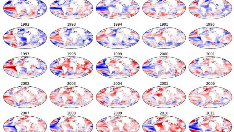 Sea surface temperature – climate data record generation with SLSTR