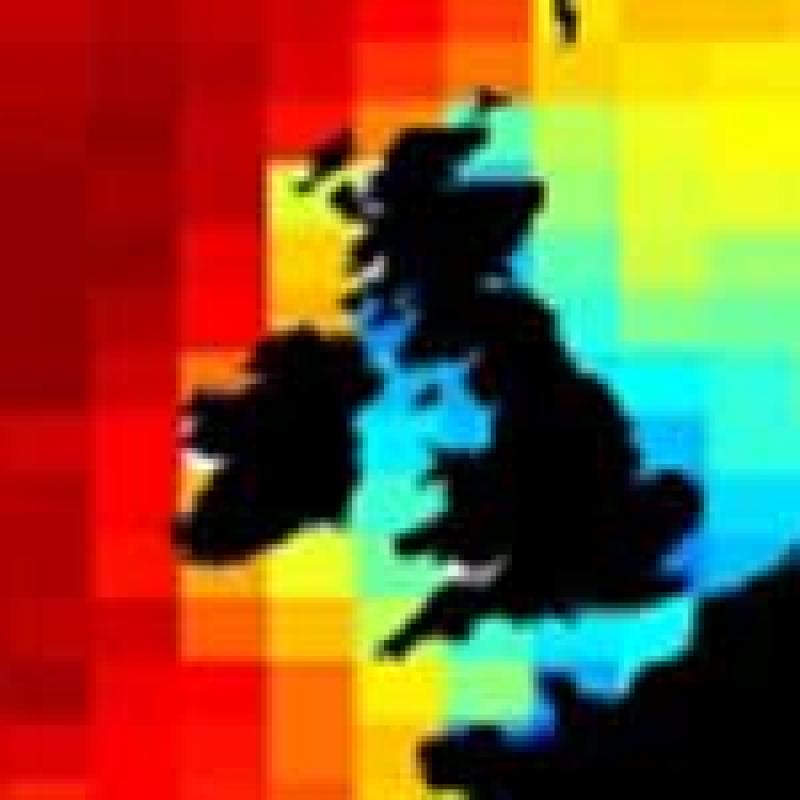 Altimeters monitor wave heights around the British Isles