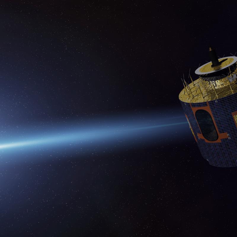 MSG Satellite in orbit
