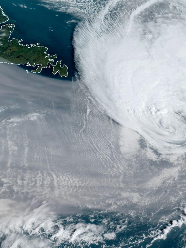 Smoky hurricane